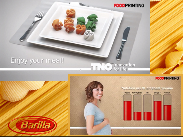 Barilla food printing