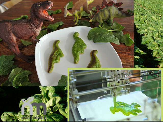 Foodini food printing