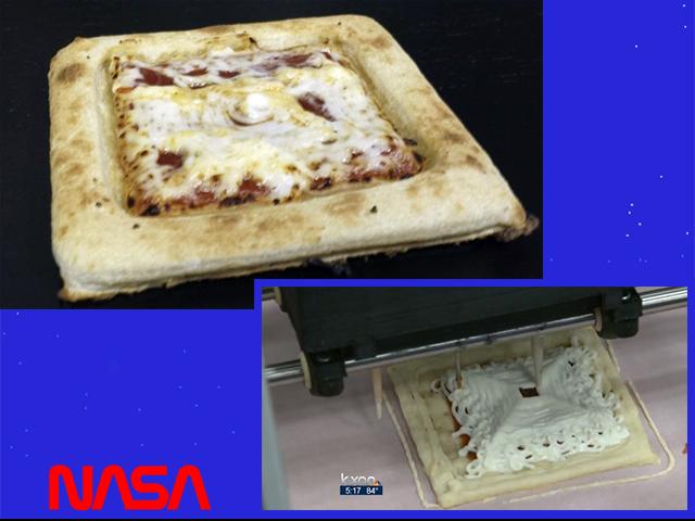 Nasa food printing