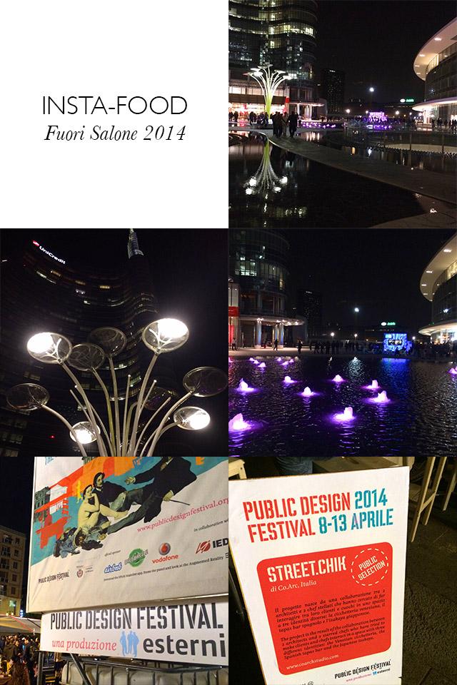 INSTA-FOOD Fuori Salone 2014 - Gae Aulenti