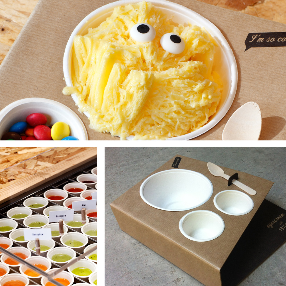Shaved ice cream - Eyescream